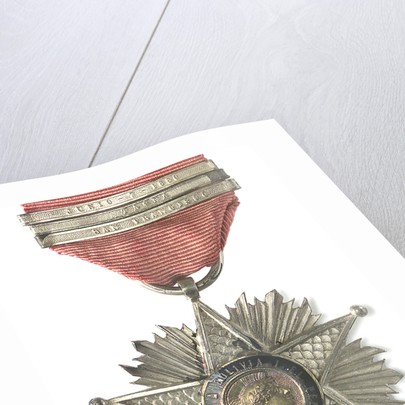 Medal commemorating the Tacna and Arica campaign, 1879-1880; obverse by unknown