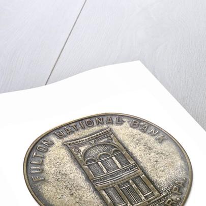 Medal commemorating the Hudson-Fulton celebration, 1909; reverse by Whitehead & Hoag