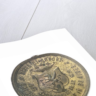 Medal commemorating Christopher Columbus (1451-1506) and the discovery of America, 1492; reverse by unknown