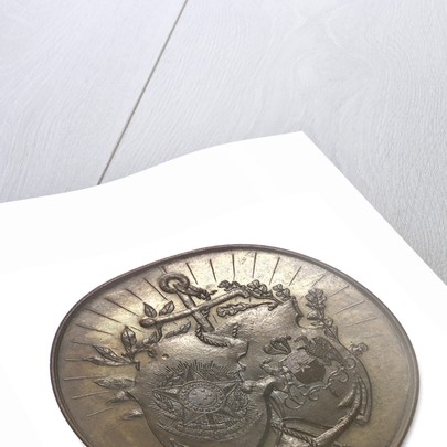 Medal commemorating the visit of the Chilean fleet to Rio de Janeiro, 1897; obverse by unknown