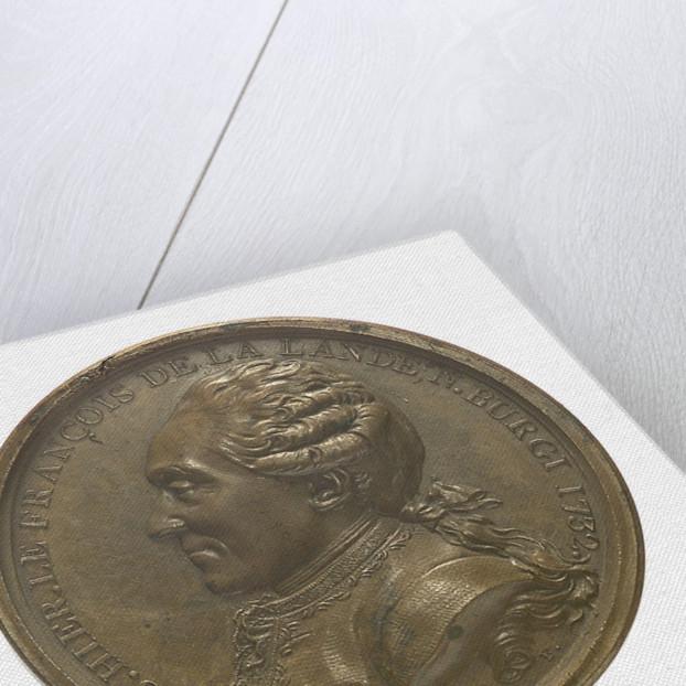 Medal commemorating Joseph Jerome François Lalande (1732-1837) by N.M. Gatteaux