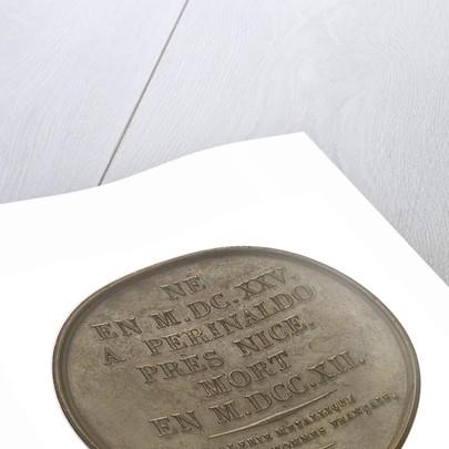 Medal commemorating John Dominic Cassini (1625-1712); reverse by J.E. Gatteaux