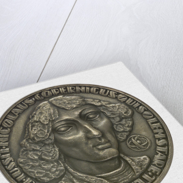 Commemorative medal depicting Nicholas Copernicus (1473-1543); obverse by F. Kalfas