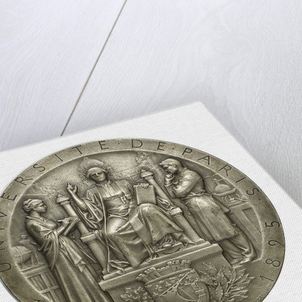 Medal commemorating the University of Paris; obverse by J.C. Chaplain