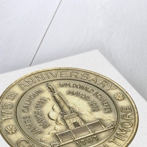 Medal commemorating the US Frigate 'Constellation'; obverse by unknown