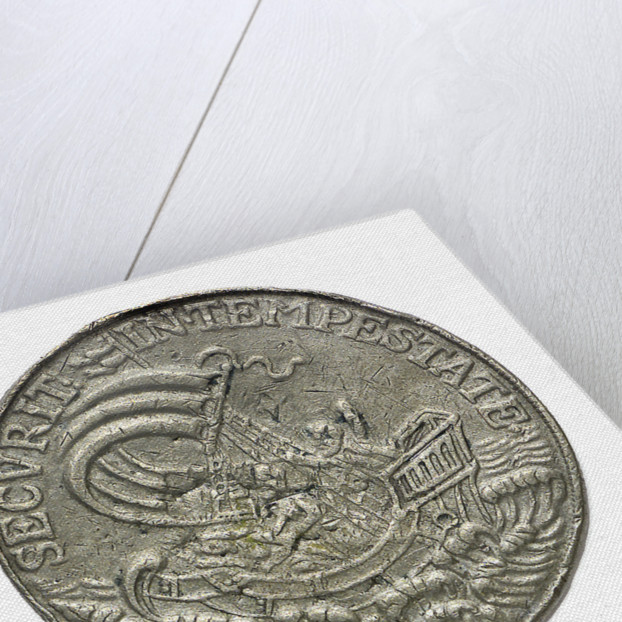 Commemorative medal depicting St George; reverse by unknown