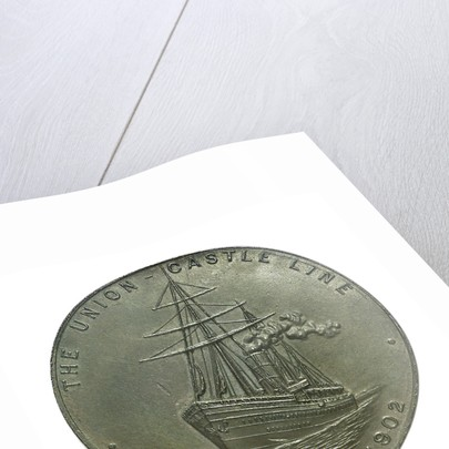 Medal commemorating the Coronation of Edward VII, 1902; reverse by Emil Fuchs