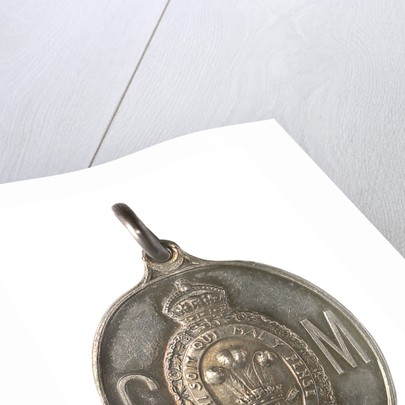 Medal commemorating the visit of the Prince and Princess of Wales to India, 1905-1906; obverse by Elkington & Co. Ltd.