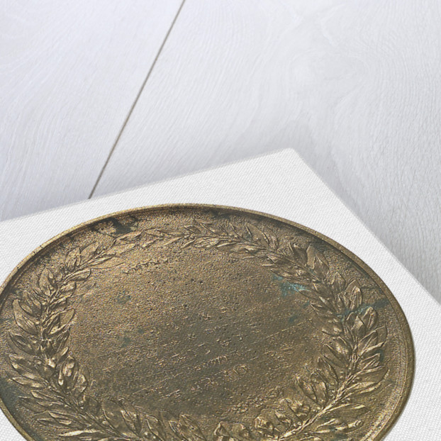 Medal commemorating John Rennie (1761 - 1821); reverse by Bain