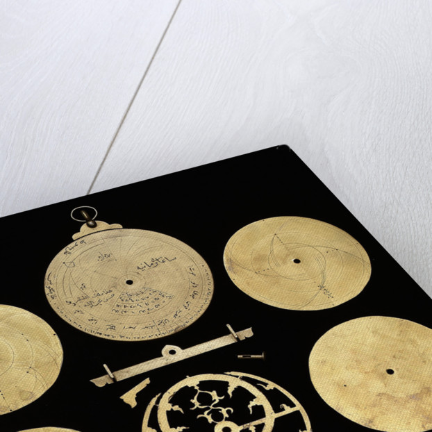 Astrolabe: dismounted reverse by Hasan 'Abd Allah