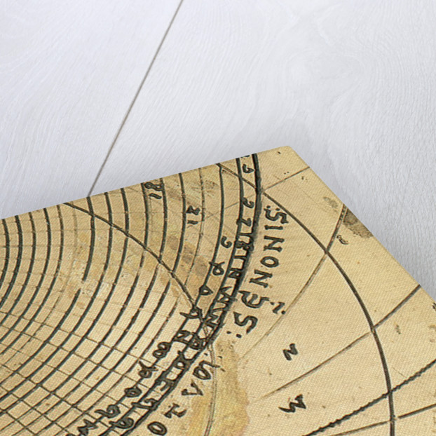 Caird Astrolabe: detail of inscription on plate by unknown