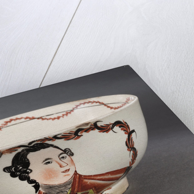 Creamware bowl by David Rhodes