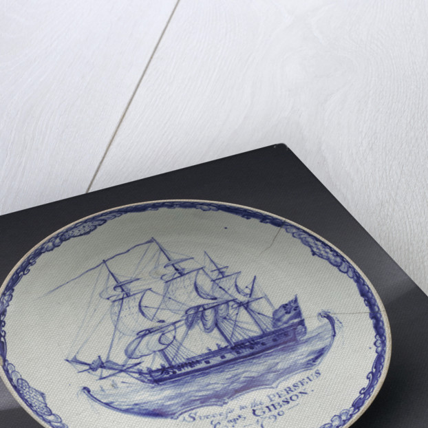 Hand-painted bowl by Pennington