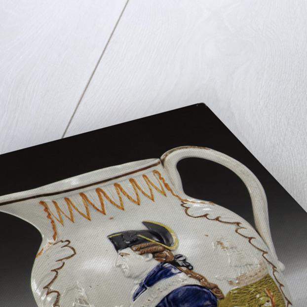 Pratt ware jug by unknown