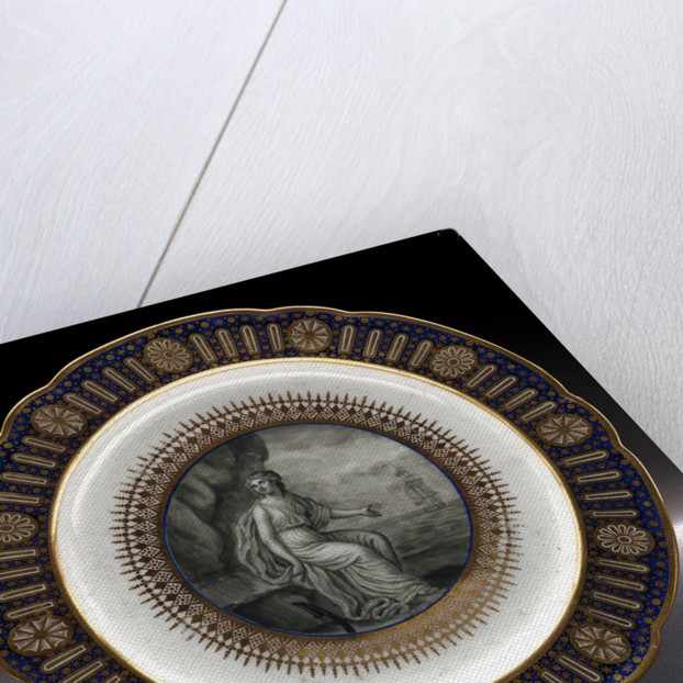 Dinner plate, part of a service belonging to HRH the Duke of Clarence, later William IV (1765-1837) by Thomas Flight