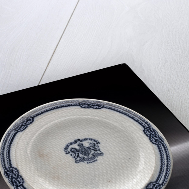 China soup plate by unknown