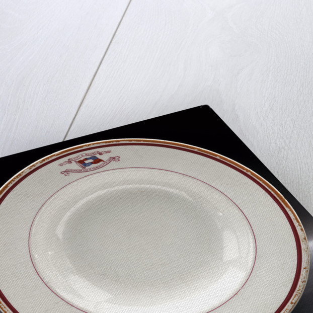 Soup plate by unknown
