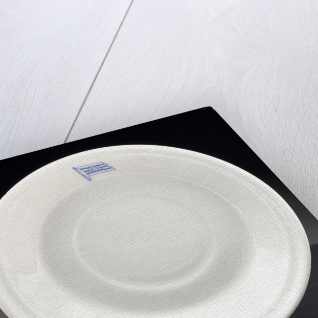Earthenware saucer by Gustavsberg
