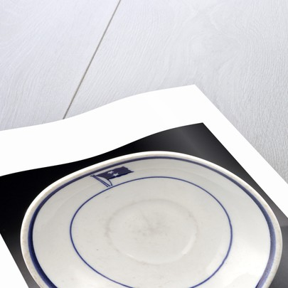White saucer by Buffalo China