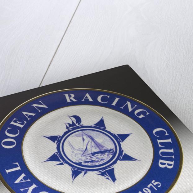 Royal Ocean Racing Club commemorative plate by Colin Mudie Wilsons