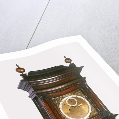 Sidereal degree clock by Thomas Tompion