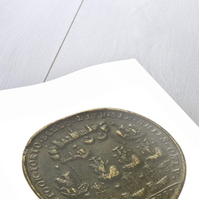 Medal commemorating the capture of Porto Bello by Admiral Vernon and Commodore Brown, 1739; reverse by unknown