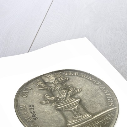Medal commemorating Vice-Admiral Horatio Nelson (1758-1805); reverse by Abramson