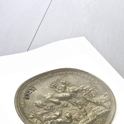 Medal commemorating the Battle of Copenhagen, 1801; reverse by D.F. Loos