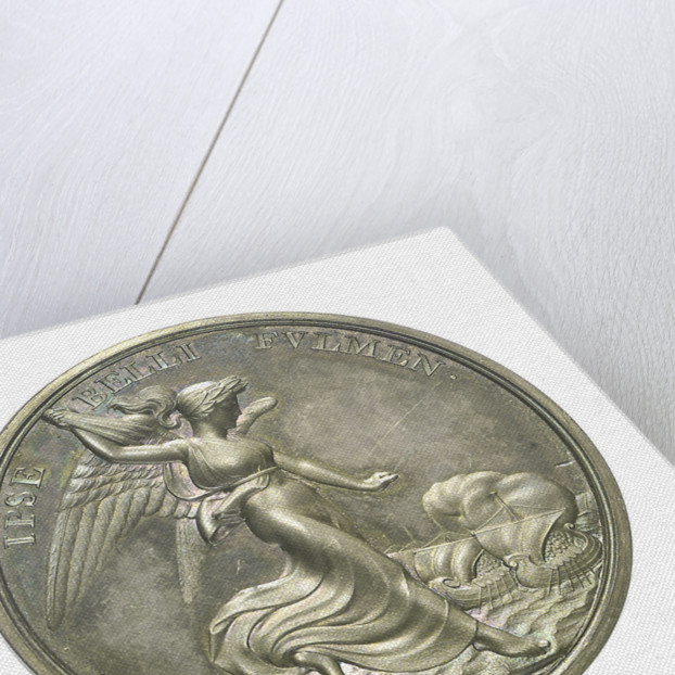 Medal commemorating Vice-Admiral Horatio Nelson (1758-1805); reverse by Thomas Webb