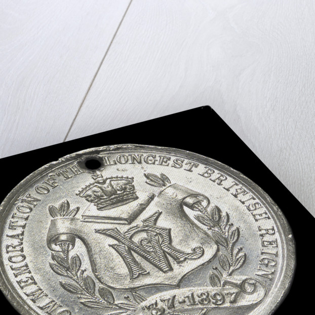 Medal commemorating Queen Victoria's Diamond Jubilee 1897; reverse by unknown