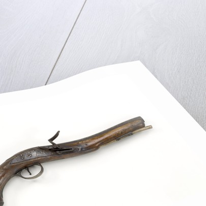 Flintlock pistol by Dublin Castle