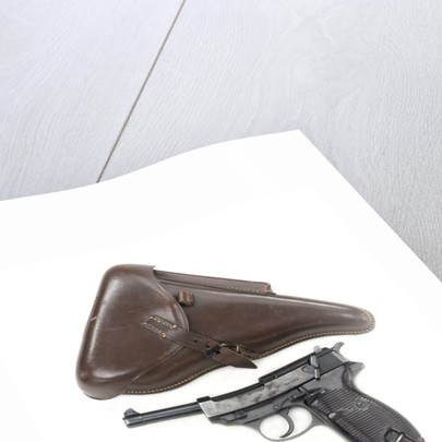 Walther P38 pistol by Walther Waffenfabrik