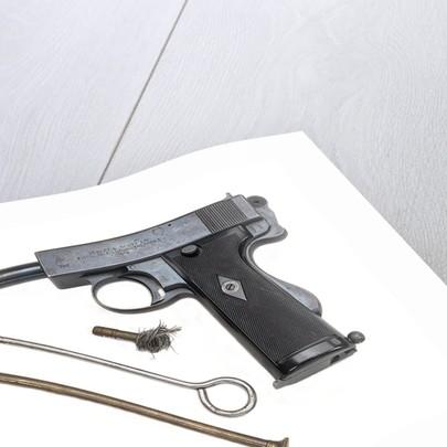 Webley & Scott Mark I Automatic by Webley & Scott Revolver & Arms Co. Ltd.