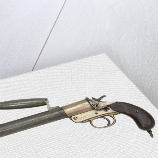 Line throwing pistol by Schermuly's