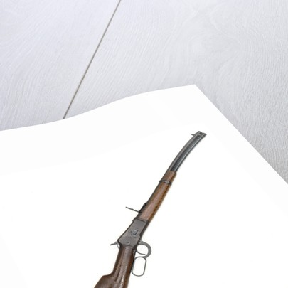 Winchester model 1892 rifle by Winchester's Repeating Arms