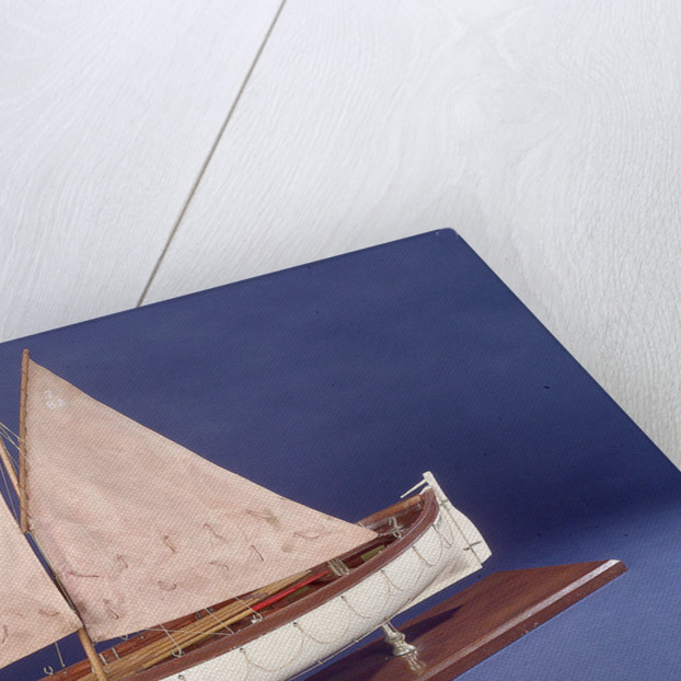 Full hull model representing 'Britannia' and 'Glasgow', port by unknown