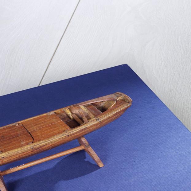Sampan, starboard broadside by unknown
