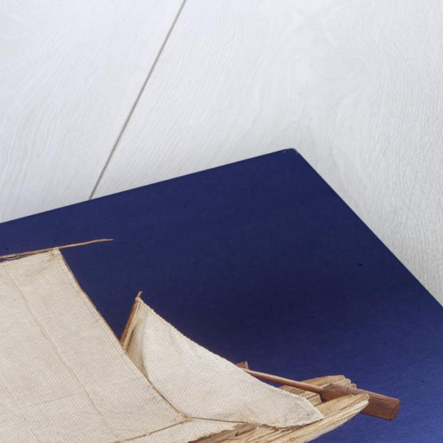Brazilian raft or Jangada, port broadside by unknown