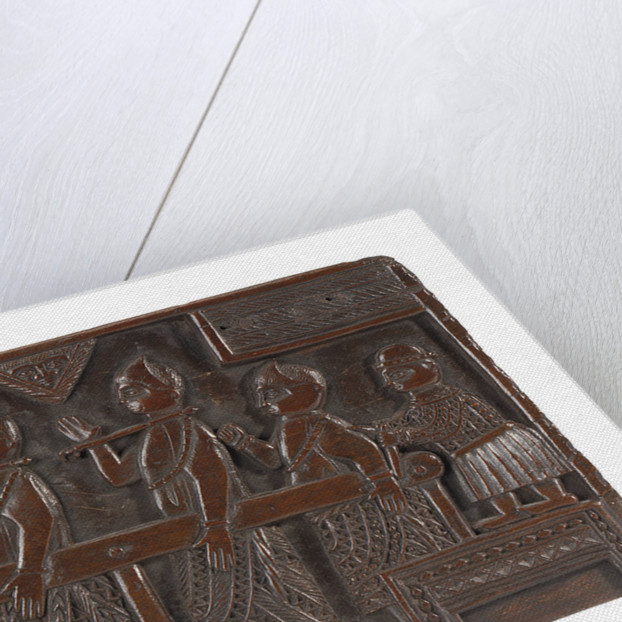 Benin chair seat by unknown