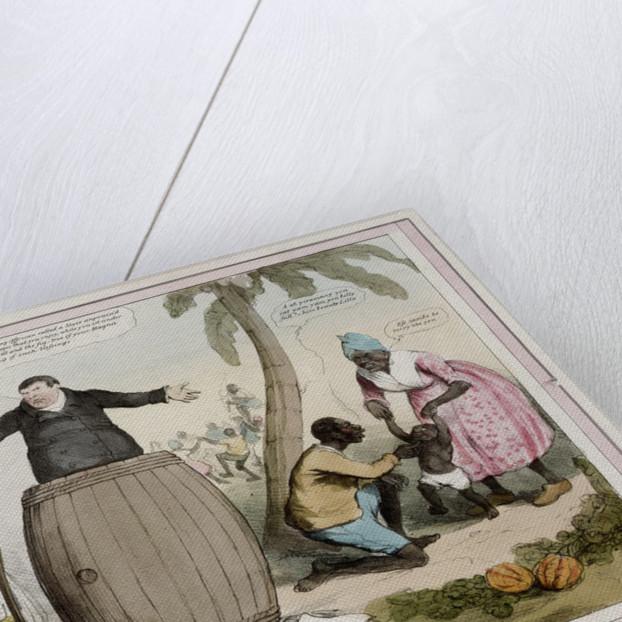Slavery/Freedom by Robert Seymour