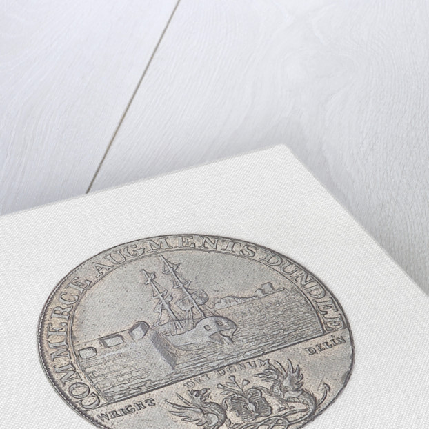 Dundee halfpenny token by J. Wright