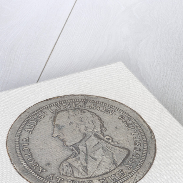 Shilling token commemorating the Battle of the Nile, 1798 by unknown