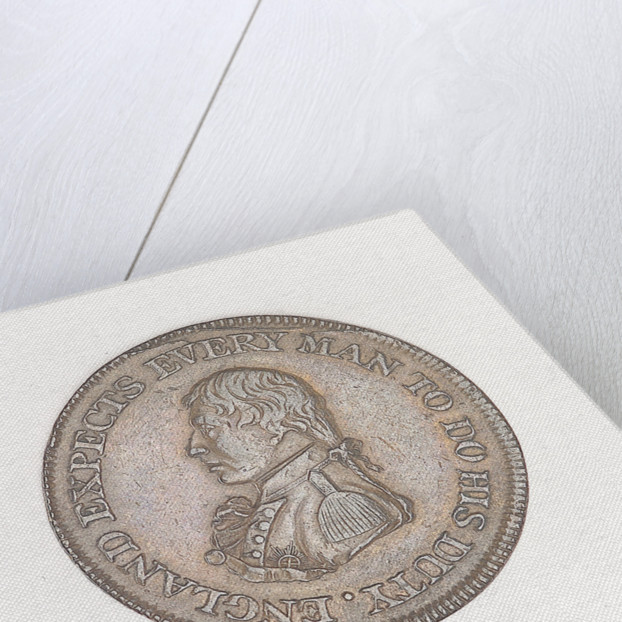 Sheffield halfpenny token by unknown