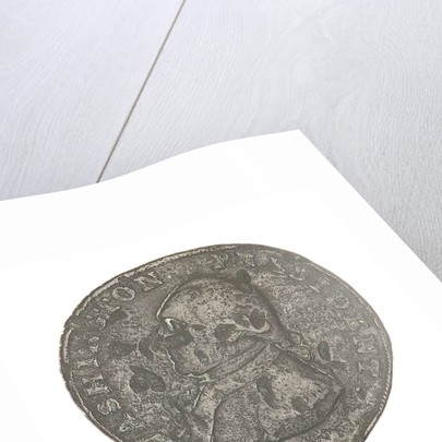 Halfpenny token commemorating President George Washington (1732-1799) by unknown