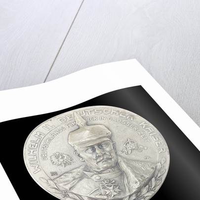 Commemorative medal depicting Kaiser Wilhelm II by unknown