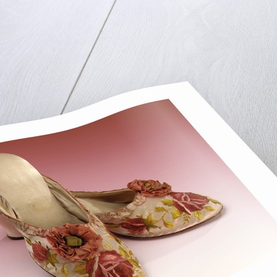 Pink slippers by unknown