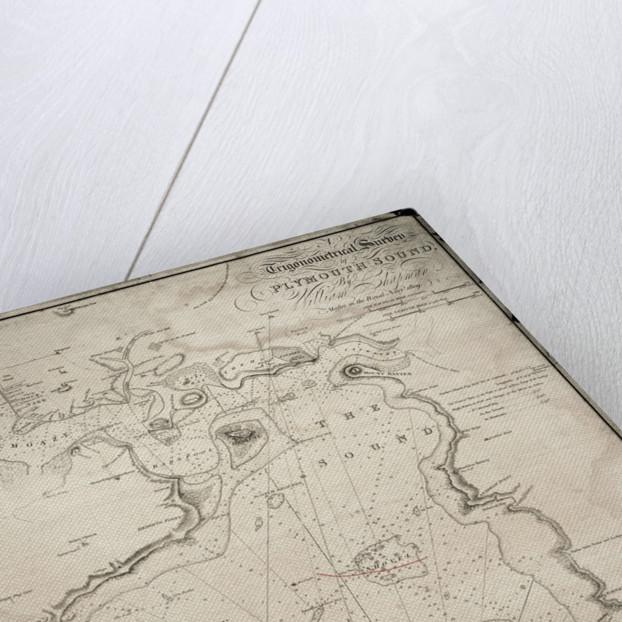 A trigonometrical survey of Plymouth Sound by William Chapman