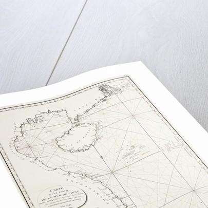 Carte d'une partie de la Mer de Chine dressee au Depot des Cartes et Plans de la Marine, sur les observations du Vice-Amiral Rosili, et publiee par ordre du Ministre. l'an 1798. by Depot Generale de la Marine