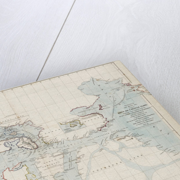 Discoveries in the Arctic Sea between Baffin Bay and Melville Island by John Arrowsmith