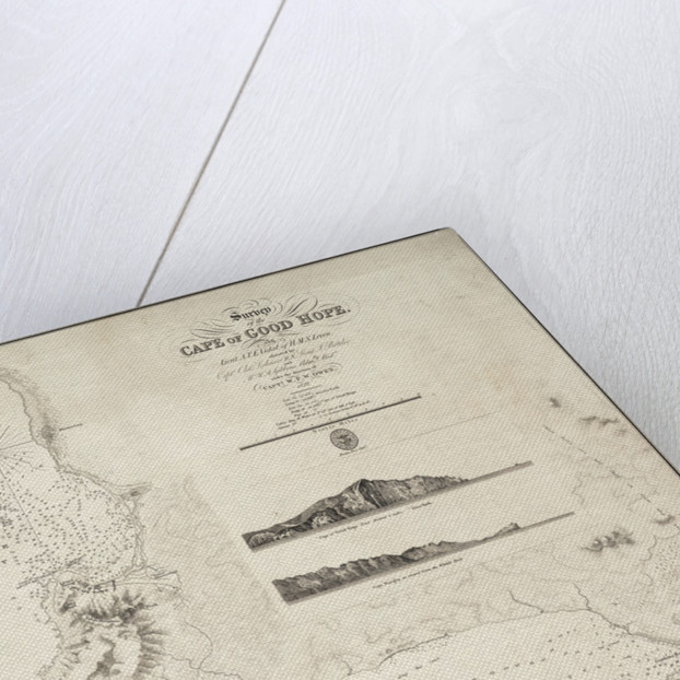 Map of the Cape of Good Hope by J. & C. Walker